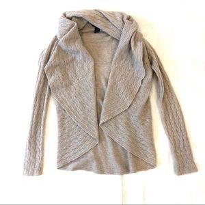 Cynthia Rowley Cashmere Open Cardigan Sweater XS